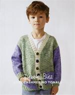 Kid's Colour Block Cardigan